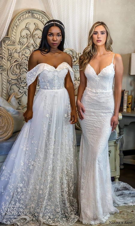 naama anat 2022 bridal off shoulder straps straples sweetheart neckline fully embellished a line ball gown wedding dress (3) zv