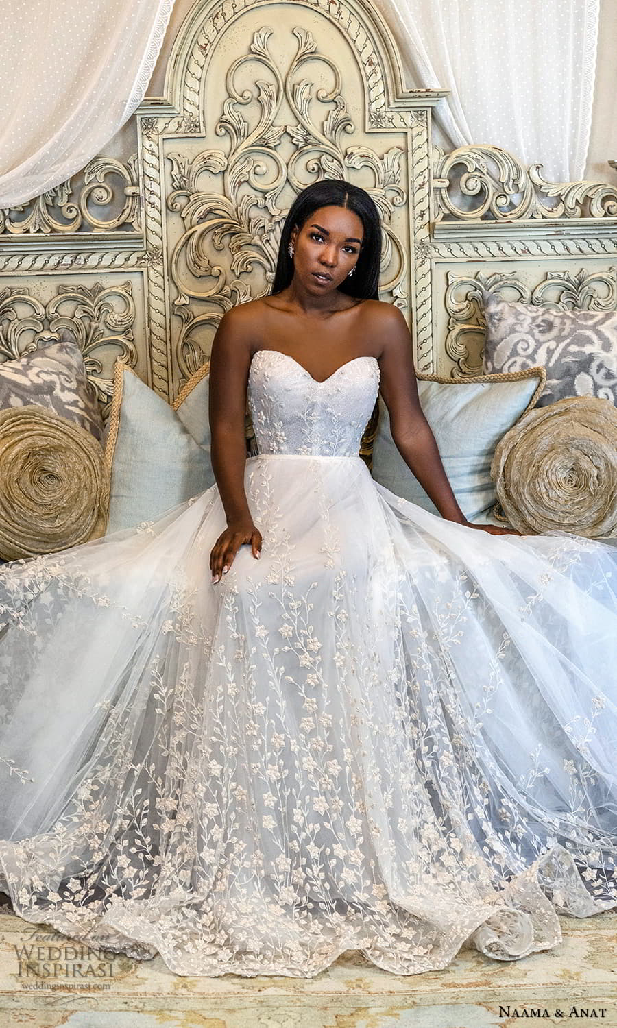 naama anat 2022 bridal straples sweetheart neckline fully embellished a line ball gown wedding dress (3) mv
