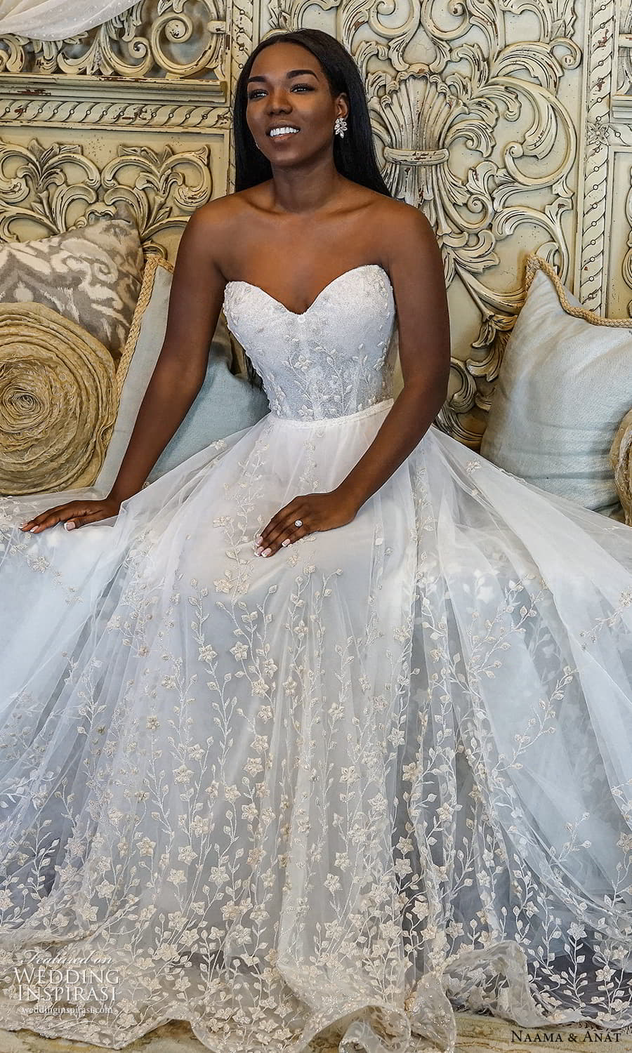 naama anat 2022 bridal straples sweetheart neckline fully embellished a line ball gown wedding dress (3) zv
