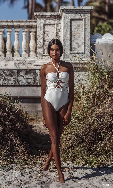 patbo spring 2022 bridal sleeveless one piece swimsuit (2) mv