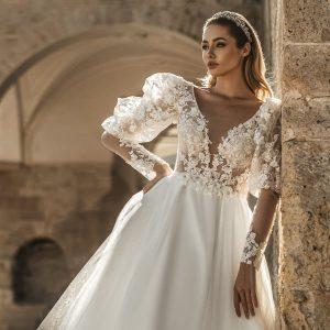 katherine joyce 2022 bridal collection featured on wedding inspirasi thumbnail