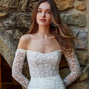 kelly faetanini spring 2022 campaign bridal collection featured on wedding inspirasi thumbnail