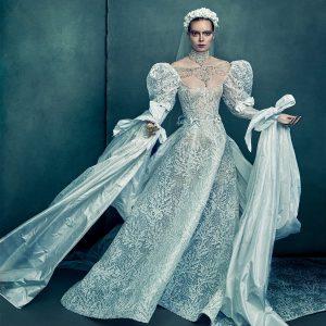 reem acra 2022 bridal collection featured on wedding inspirasi thumbnail