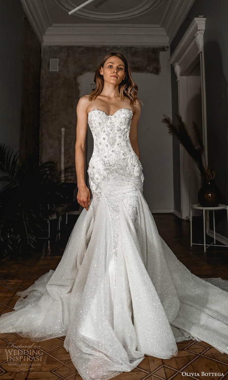 olivia bottega 2022 capsule bridal strapless sweetheart neckline embellished sheath wedding dress chapel train (3) mv